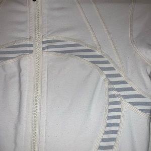 lululemon athletica Jackets & Coats - Lululemon white jacket size 4